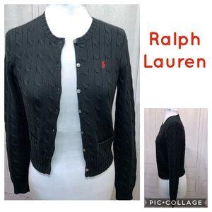 Ralph Lauren Sport Cardigan S